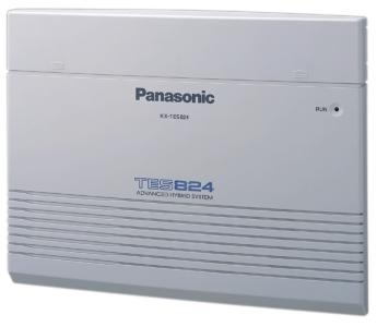 Conmutador Hibrido Avanzado Panasonic modelo KX-TES824